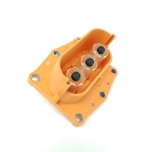 Elektroauto-selber-bauen-mit-TE Connectivity - Buchse-HVP800-3Pol