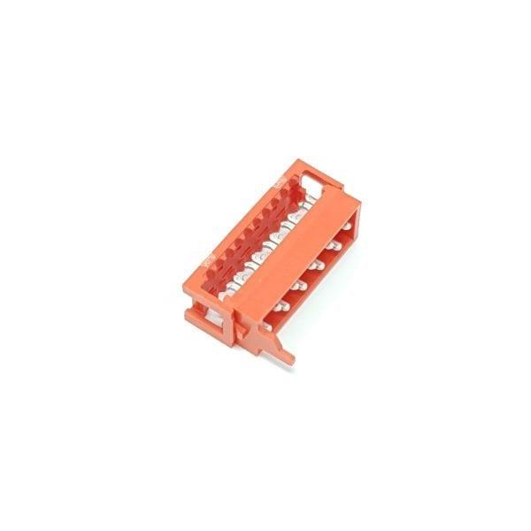 Elektroauto-selber-bauen-mit-BMS-BUS-Steckereinheit rot