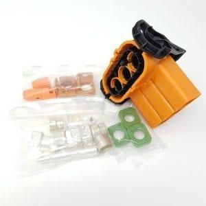 Elektroauto-selber-bauen-mit-TE Connectivity - Bausatz-HVP800-3Pol-90°-50mm²