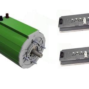 Elektroauto-selber-bauen-mit-Set 110 KW Elektromotor 250 Nm + 2 x Sevcon Gen4 Size6 96V