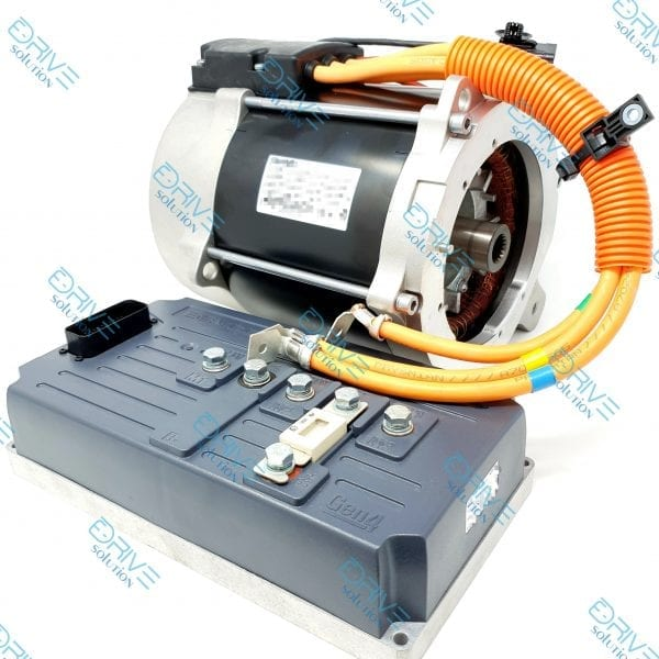Elektroauto-selber-bauen-mit-Set 12 KW Elektromotor 70 Nm + 1 x Sevcon Gen4 Size6 48V